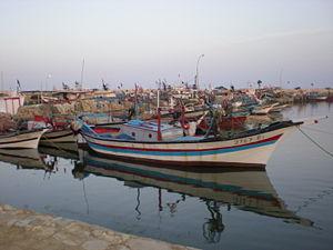 Nouveau port de pêche