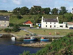 Brora - Image: Harbour Road, Brora geograph.org.uk 486882