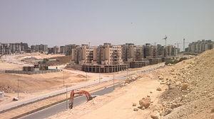 Harish, Israel - Harish, new construction in April 2016