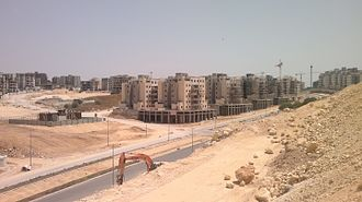 Harish, Israel - Harish, new construction in April 2016