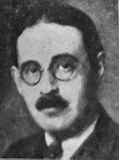 Portrait photo of Harold Laski