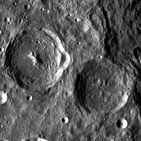 Hartmann and Green craters LROC.jpg