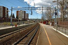 Haugenstua Station