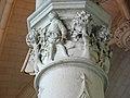 Haut de colonne de la salle du conseil, château d'Amboise.JPG