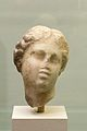 Head of Aphrodite, , Roman work after Hellenistic original. Marble, 1st-2nd c AD, Prague NM-H10 8094, 151319.jpg