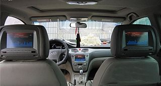In-car entertainment Hardware or software that provides entertainment in cars