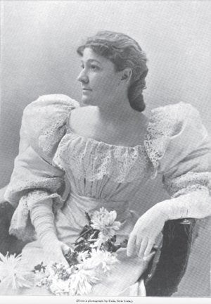 Dauvray Cup - Helen Dauvray in 1896