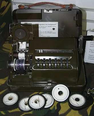 C-52 (cipher machine) - A Hell 54, a licensed German copy of the C-52