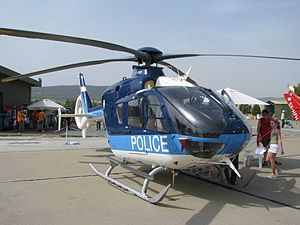 Hellenic Police - Greek Police helicopter.