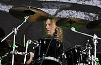 "Helrunar, Sebastian ""Alsvartr"" Körkemeier at Party.San Metal Open Air 2013 02.jpg"