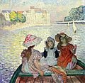 Henri Lebasque (French artist, 1865-1937) Young Girls in a Boat c 1900.JPG