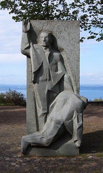 Heiden, Switzerland - Henry Dunant memorial
