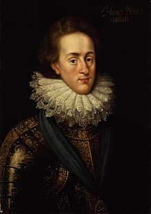 Colour painted portrait of Henry Frederick, Prince of Wales by Isaac Oliver. Painted approximately in 1610.