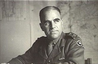 Henry Wells (general) - Colonel Henry Wells, GSO1 9th Division c. March 1942
