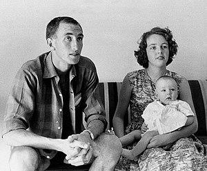 Herb Elliott - Elliott with family in Europe c. 1960