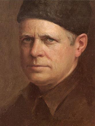 Herbert Abrams - Herbert Abrams Self Portrait, oil on canvas