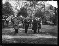 Herbert Hoover and marching band. White House, Washington, D.C. LCCN2016889751.tif