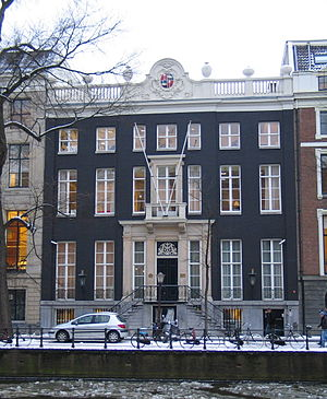 Andries de Graeff - Andries de Graeffs City Palace in the Gouden Bocht, Herengracht 446
