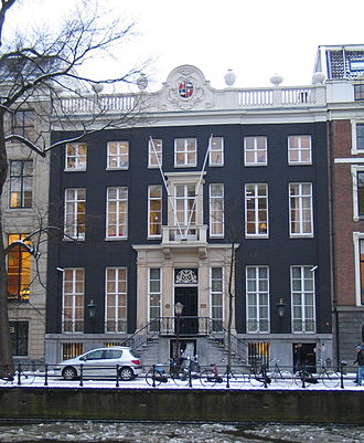 Andries de Graeff - Andries de Graeffs City Palace in the Gouden Bocht, Herengracht 446