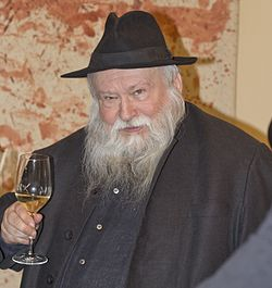 Hermann Nitsch 2012-ben