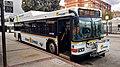 Highway 17 Express bus at Metro Center, November 2019.jpg