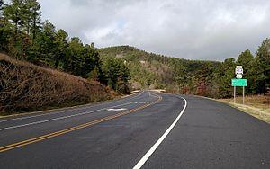U.S. Route 71 - Highway 71 at Y City