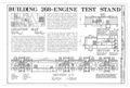 Hill Field, Engine Test No. 2, 5822 Engine Lane, Layton, Davis County, UT HAER UTAH,6-LAY.V,2T- (sheet 1 of 3).png