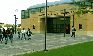 Morgan State University - Hill Field House, Morgan's indoor athletic venue