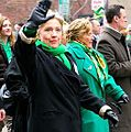 Hillary in St. Patty's Parade Pittsburgh 2008 (cropped).jpg