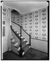 Historic American Buildings Survey, STAIRWAY. - Hearthside, Great Road, Saylesville, Kent County, RI HABS RI-47-2.tif