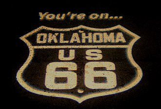 U.S. Route 66 in Oklahoma - Image: Historic Route 66 (234526475)