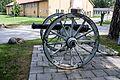Historic gun in Berga navy base, Sweden.jpg
