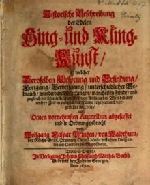 Historische Beschreibung der edelen Sing- und Kling-Kunst (1690) (Quelle: Wikimedia)