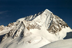 High Tauern - The Hochgall in winter from the west