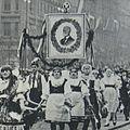 Holdovaci průvod na Hrad roku 1930.JPG