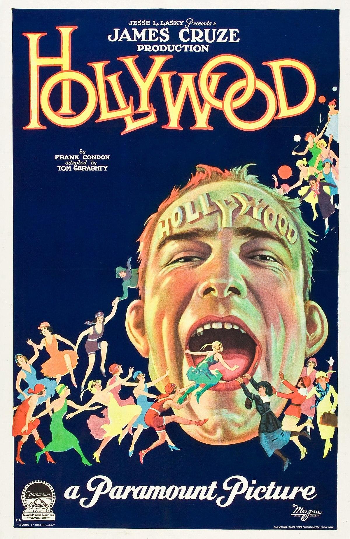 hollywood  1923 film