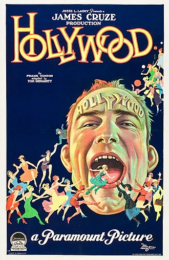 Hollywood (1923 film) - Theatrical release poster