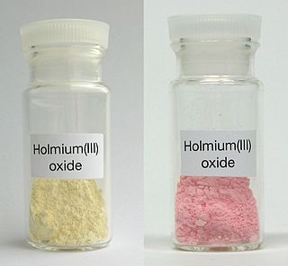 Holmium(III) oxide chemical compound