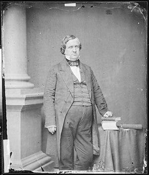 John P. Hale - John P. Hale, photograph by Mathew Brady