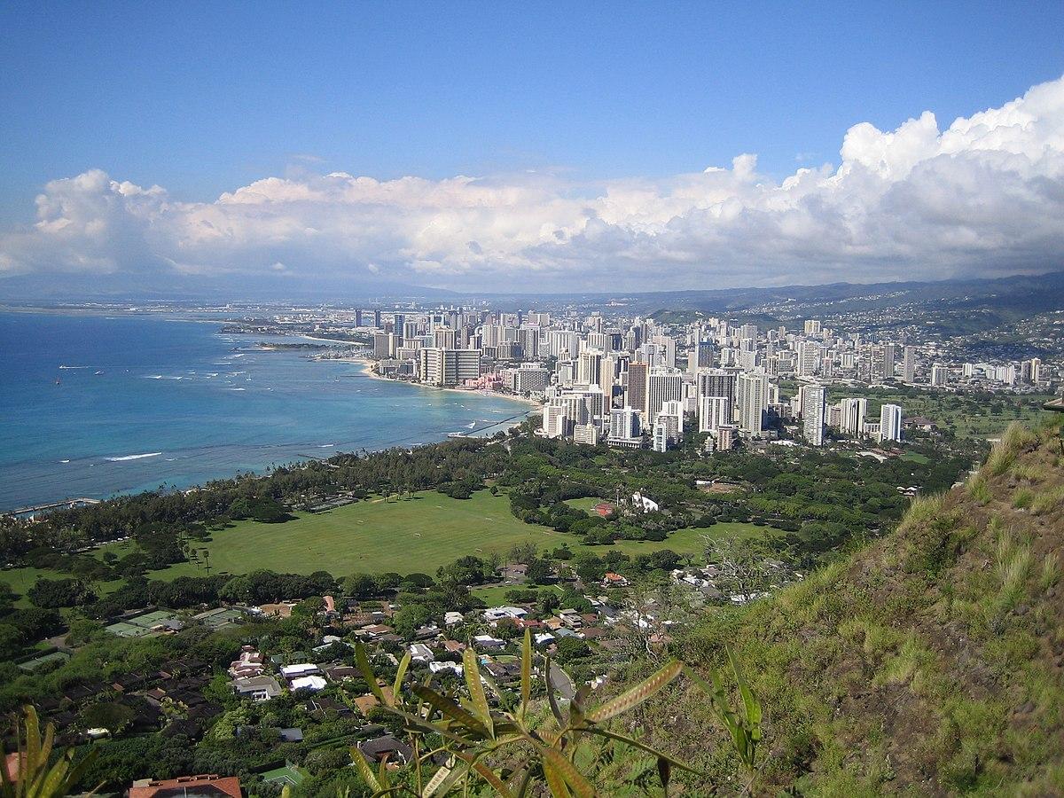 Hawaii Islands And Cities