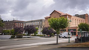 Hoquiam, Washington - Downtown Hoquiam