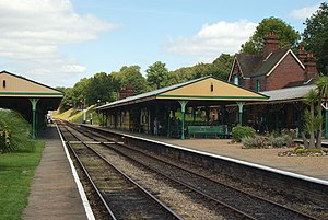 The Railway Children (2000 film) - Horsted Keynes station