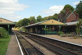 The Railway Children (2000 film) - Horsted Keynes station