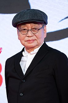 Hosono at the Tokyo International Film Festival, 2019