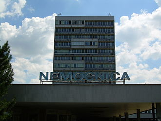 Ružinov - Image: Hospital Ruzinov Bratislava