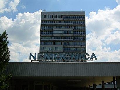 How to get to Nemocnica S Poliklinikou Ružinov with public transit - About the place