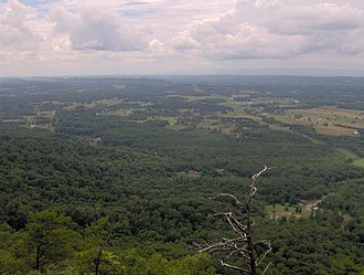 House Mountain (Knox County, Tennessee) - Image: House mountain west tn 2
