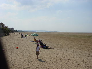 Hoylake Seaside town and home of the Royal Liverpool golf club, in Wirral, England