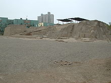 Huaca San Borja Archaeological site - overview.jpg
