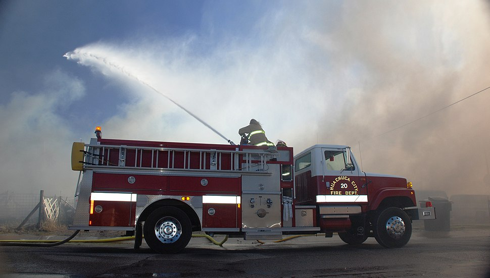 Huachuca City Fire - 2010-03-16 - 06